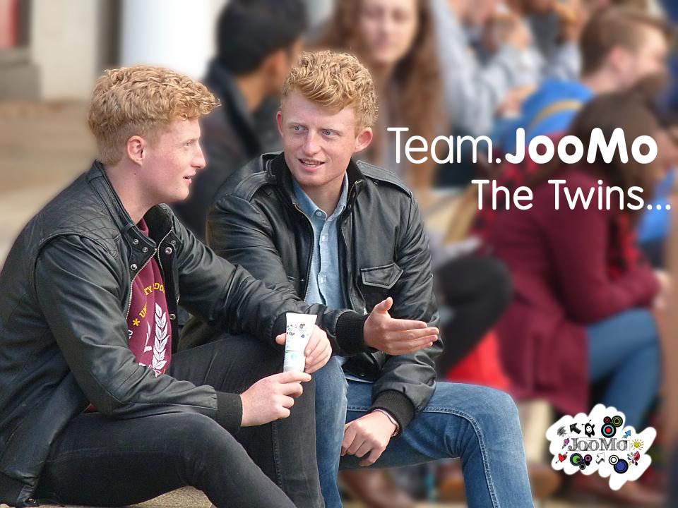 Sam & Kit Wallen Russel - Co-founders of JooMo Ltd.